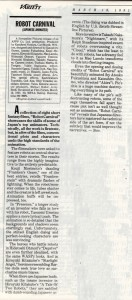Review from Variety (click to enlarge)