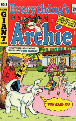 Archie in Front of Filmation Studios