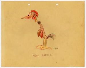 Ken Harris by T. Hee (click to enlarge)