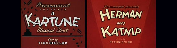 "Goodbye ""Kartunes""... Hello ""Herman and Katnip""!"