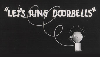 "Thunderbean Update and ""Let's Ring Doorbells"" (1935)"