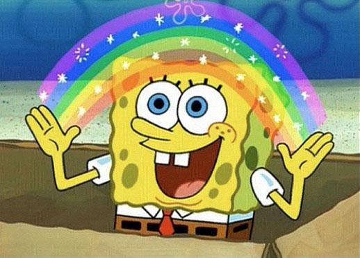 spongebob-rainbow
