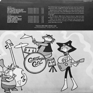 Back cover of the LP - Click To Enlarge