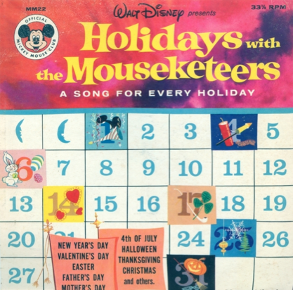 Holidays with the Mouseketeers