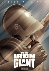"""The IRON GIANT (1999) returns to theaters next week. The """"signature Edition"""" will also be on DVD and blu-ray (date TBA)."""
