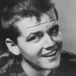 Jack Nicholson in a mid-1950s head shot