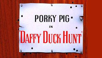"McKimson's ""Daffy Duck Hunt"" (1949)"