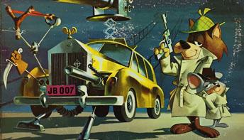 "Super Snooper and Blabber Mouse Meet ""James BOMB"""