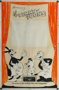 Terrytoons stock one-sheet poster from 1937 (click to enlarge)