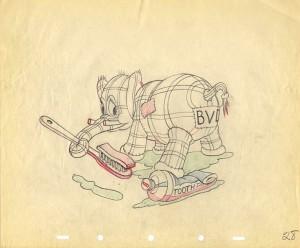 BrokenToys-Stuffed Elephant