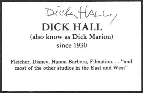 Dick-Hallsignature