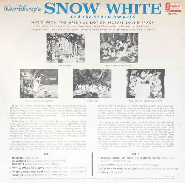 1963 Back Cover