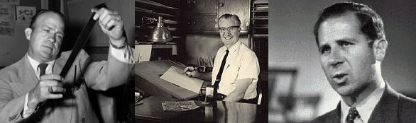 The Duckburg Brain Trust: Jack Hannah, Carl Barks, Clarence Nash