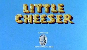 "Harman-Ising's ""Little Cheeser"" (1936)"