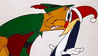 "Woody Woodpecker in ""Ski For Two"" (1944)"