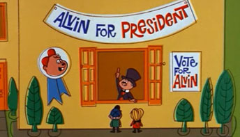 Alvin the Chipmunk's Presidential Campaign Record