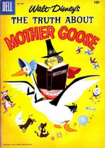 Disney Mother Goose Comic Cover
