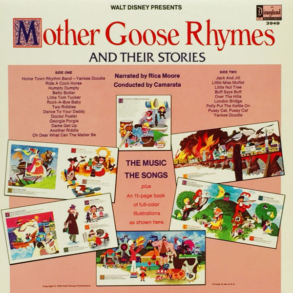 Mother Goose Stories LP Back600
