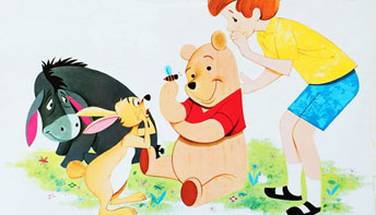 "Disney's ""Winnie the Pooh & The Honey Tree"" on Records"