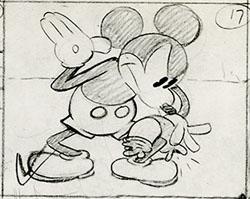 mickey-spank