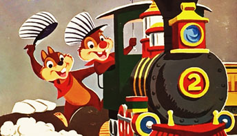 "Disney's ""Chip 'n' Dale"" on Records"
