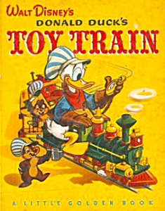 Donald Toy Train Golden Book