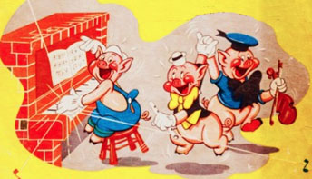 "Walt Disney's ""Three Little Pigs"" (1933)"