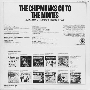 The album's back cover (Click To Enlarge)