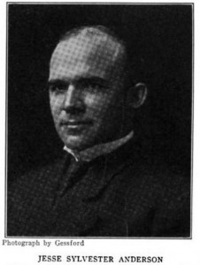1909 Portrait of Vet Anderson in his 30s