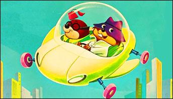 "Hanna-Barbera's ""Secret Squirrel"" on Records"