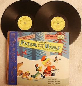 Peter and the Wolf RCA 78rpm