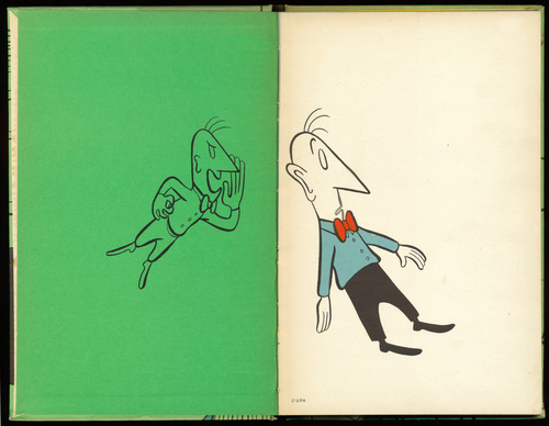 End Papers from the pamphlet