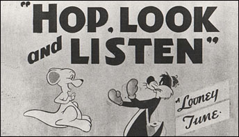 "Robert McKimson's ""Hop, Look and Listen"" (1948)"
