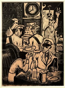 "Byron Randall ""Solidier At The Bar"" (1941)"