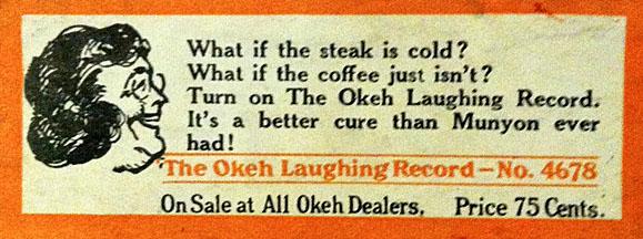 okeh-laughing-sticker