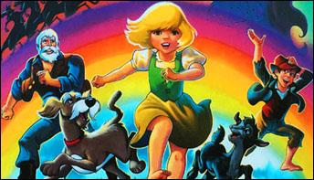 "Hanna-Barbera's ""Heidi's Song"" (1982) on Records"