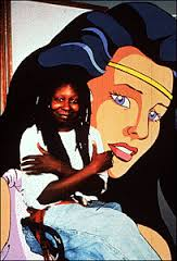 "Whoopi Goldberg later voiced Gaia, goddess of the Earth, on DiC's ""Captain Planet""."