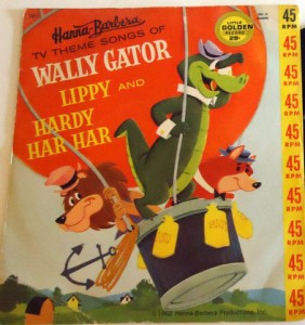 Wally Gator Golden Record-400