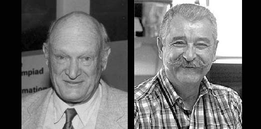 Bill Littlejohn (left) and Bill Melendez (right)