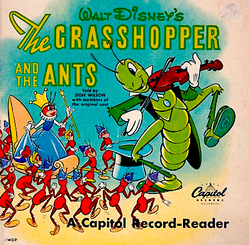 Capitol Grasshopper Record Reader