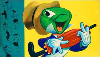 Jiminy Cricket on Records