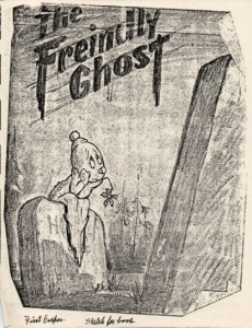 Joe Oriolo's original sketch of Casper for the children's book by he and Sy Reit