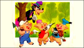 "Walt Disney's ""Three Little Pigs"" on Records"