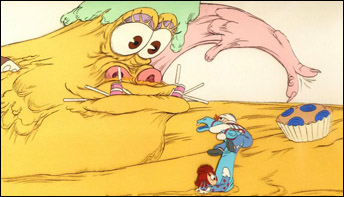 "Emery Hawkins Greedy animation from ""Raggedy Ann and Andy"""