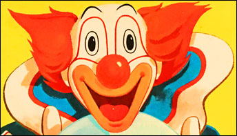 """Bozo the Clown Goes on the """"Record"""" about America"""