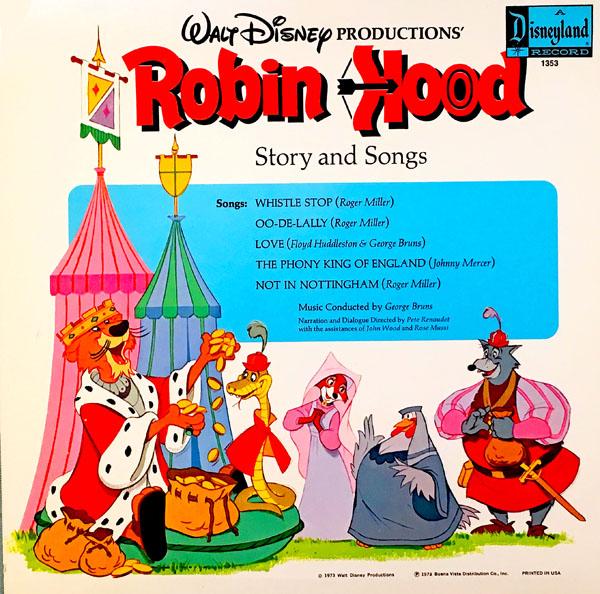 "Disney's ""Robin Hood"" on Records |"