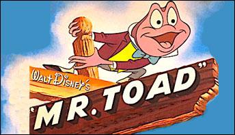 "Walt Disney's ""Mr. Toad"" on Records"
