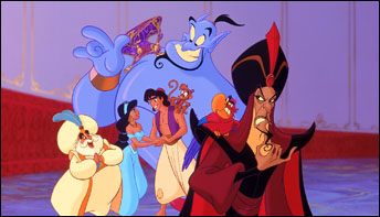 "Celebrating the 25th anniversary of Disney's ""Aladdin"""