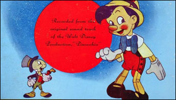 Pinocchio on RCA and Decca: All In A Nice Neat Package
