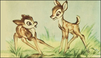 """Deer, Oh Dear! """"Bambi"""" Gets Covered"""